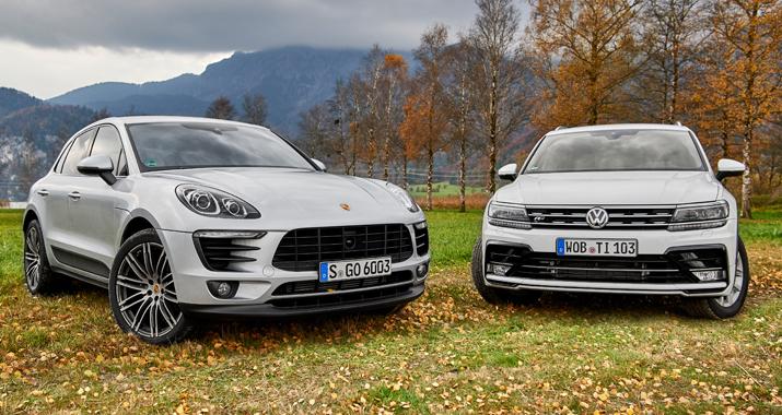 Doppeltest Porsche Macan Vs Volkswagen Tiguan R Line