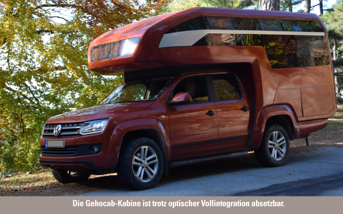vw amarok wohnkabine kora glamping mit dem pickup campers. Black Bedroom Furniture Sets. Home Design Ideas